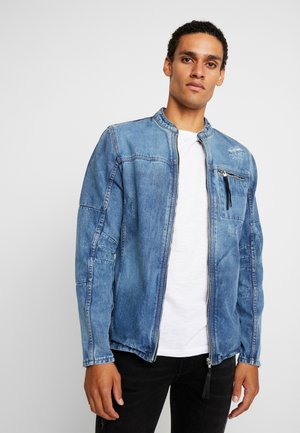 BETRAVER - Denim jacket - indigo mid