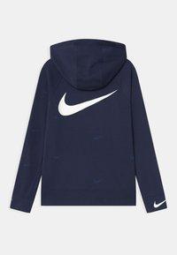 Nike Sportswear - Mikina na zip - midnight navy/white - 1