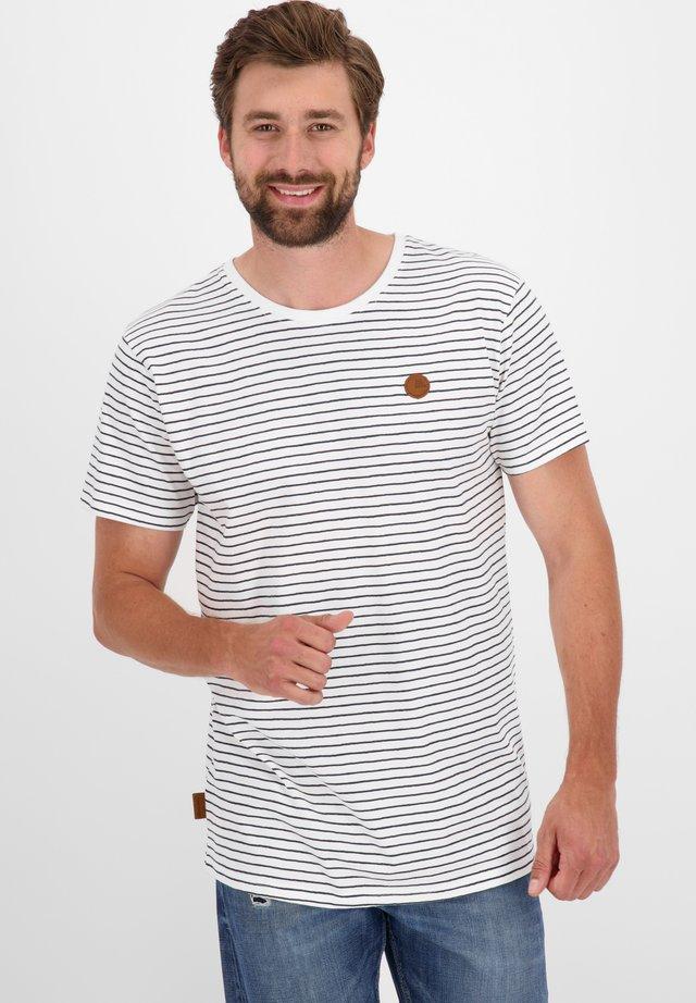 NICAK  - T-shirt imprimé - white