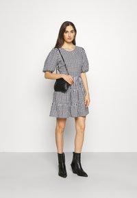 Faithfull the brand - LIZZY MINI DRESS - Day dress - varsha black - 1