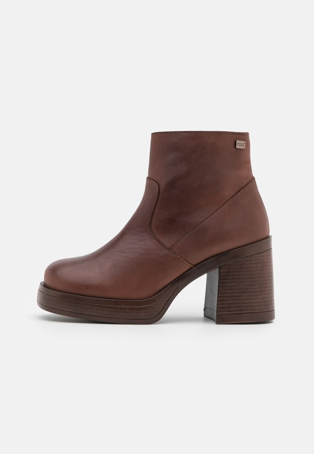 WAMY - High heeled ankle boots - cue