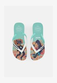 Havaianas - FORTNITE UNISEX - Pool shoes - green dew - 0