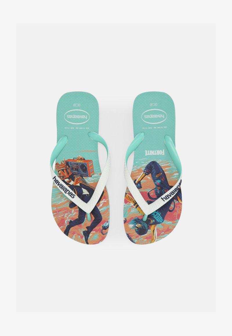 Havaianas - FORTNITE UNISEX - Pool shoes - green dew
