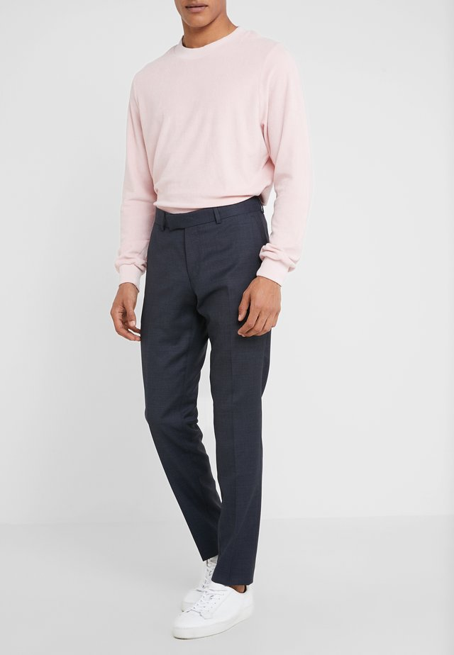 GORDON - Suit trousers - light ink