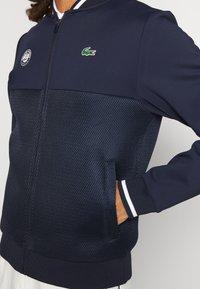 Lacoste Sport - TENNIS JACKET  - Träningsjacka - navy blue/white - 3