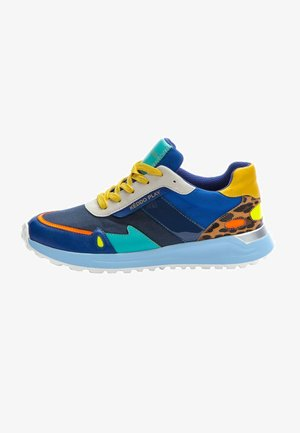 Sneakers - blue/yellow