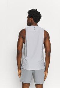 Nike Performance - TANK  - Top - smoke grey/black - 2