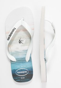 Havaianas - HYPE - Pool shoes - white/blue sky - 3