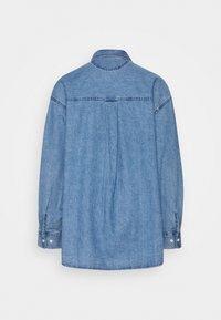 Monki - Button-down blouse - blue medium dusty - 1