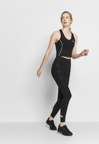 Nike Performance - AIR  - Legginsy - black/silver - 1