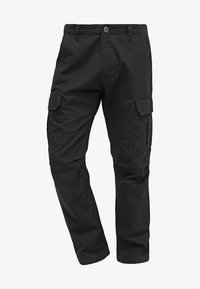 EDWARDSPORT - Cargo trousers - black