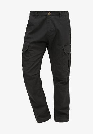 EDWARDSPORT - Pantalon cargo - black