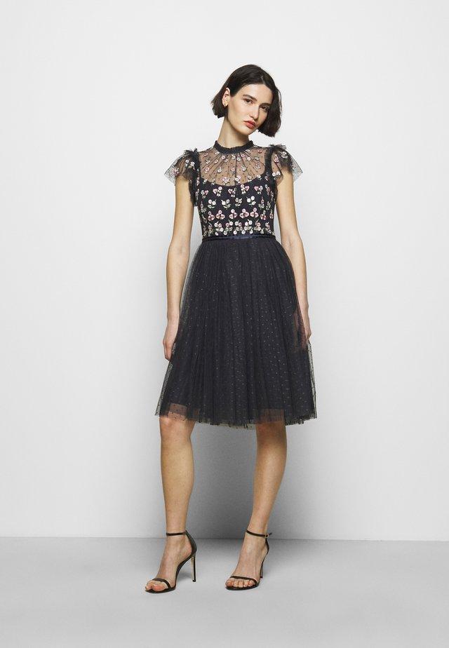 ROCOCO BODICE MIDI DRESS - Cocktail dress / Party dress - sapphire sky