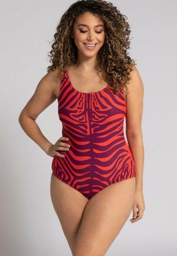 Swimsuit - hellrot