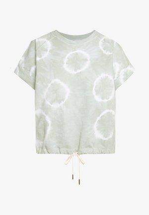 LINDSAY - Print T-shirt - light green