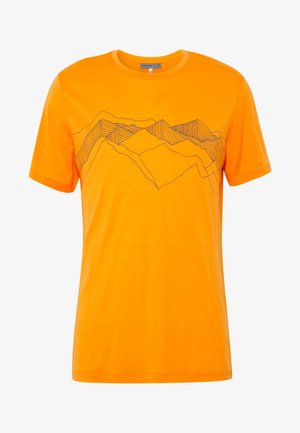 TECH LITE CREWE PEAK PATTERNS - Camiseta estampada - sun