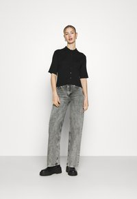 Monki - CAT - Button-down blouse - black - 1
