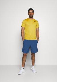 Nike Performance - FLEX SHORT - Pantalón corto de deporte - mystic navy/black - 1