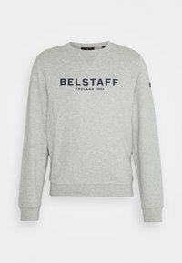 Belstaff - Sweatshirt - grey melange/dark navy - 4