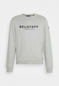 Sweatshirt - grey melange/dark navy