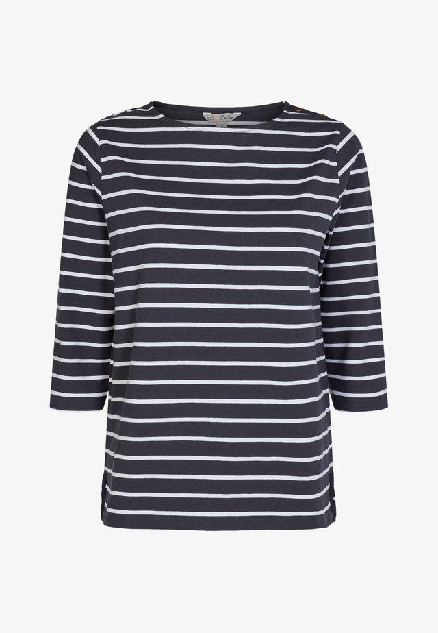 Langærmede T-shirts - dark blue