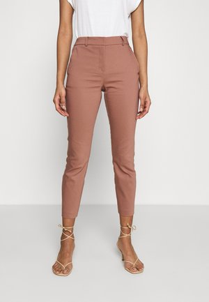GRACE PANTS - Trousers - dark rose
