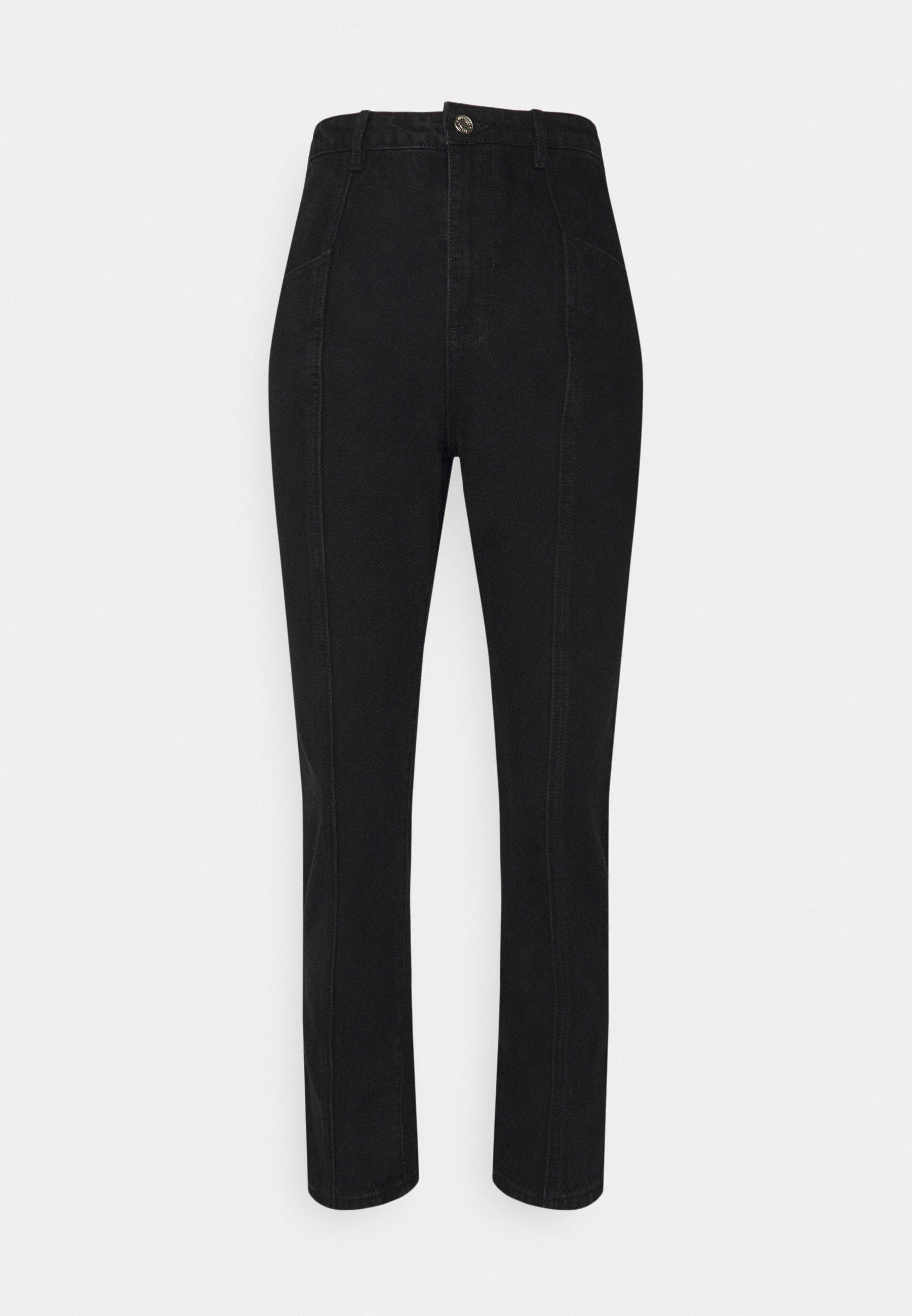Women FRONT SEAM DETAIL - Straight leg jeans