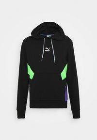Puma - TFS  - Hoodie - black/fluo green - 0