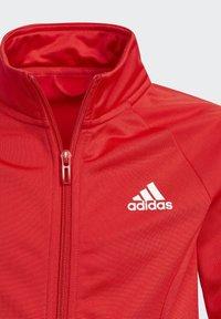 adidas Performance - TEAM - Trainingspak - red - 6