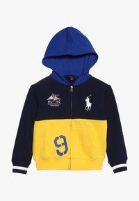 Polo Ralph Lauren - ATLANTIC TERRY HOOD - Träningsjacka - yellow fin - 3