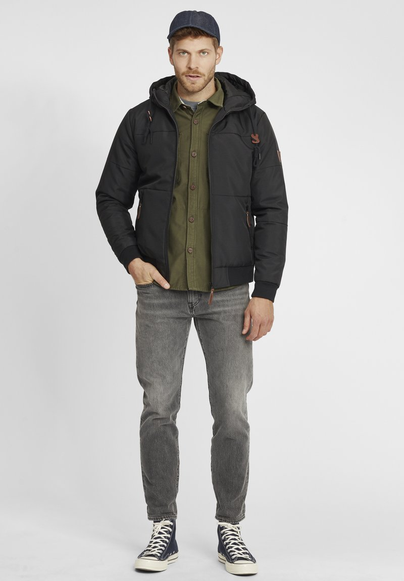 INDICODE JEANS - HANNIBAL - Winter jacket - charcoal mix