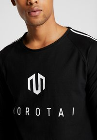 MOROTAI - BONDED LONGSLEEVE - Long sleeved top - black - 5