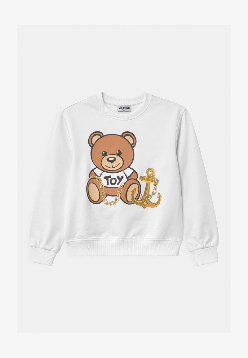 MOSCHINO - UNISEX - Sweatshirt - optic white