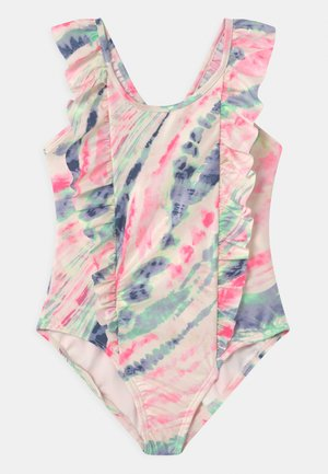 GIRL PRINCESS - Badeanzug - multi tie dye