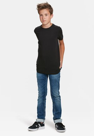 WE FASHION JONGENS BASIC T-SHIRT, 2-PACK - T-shirt basic - black