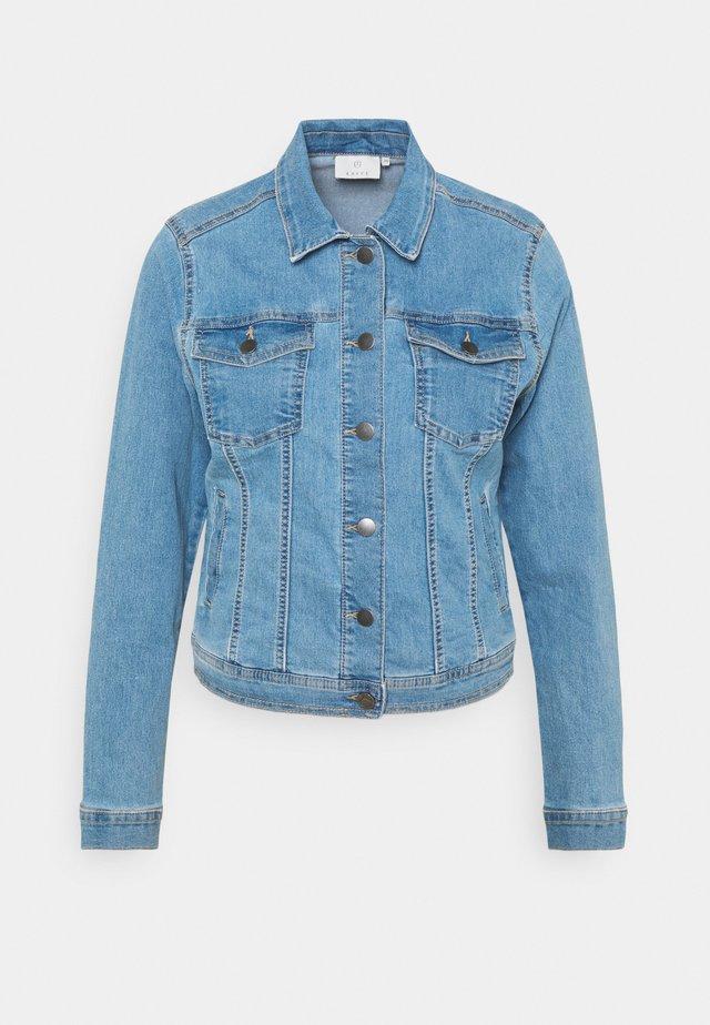 KATALIN JACKET - Veste en jean - light blue washed denim