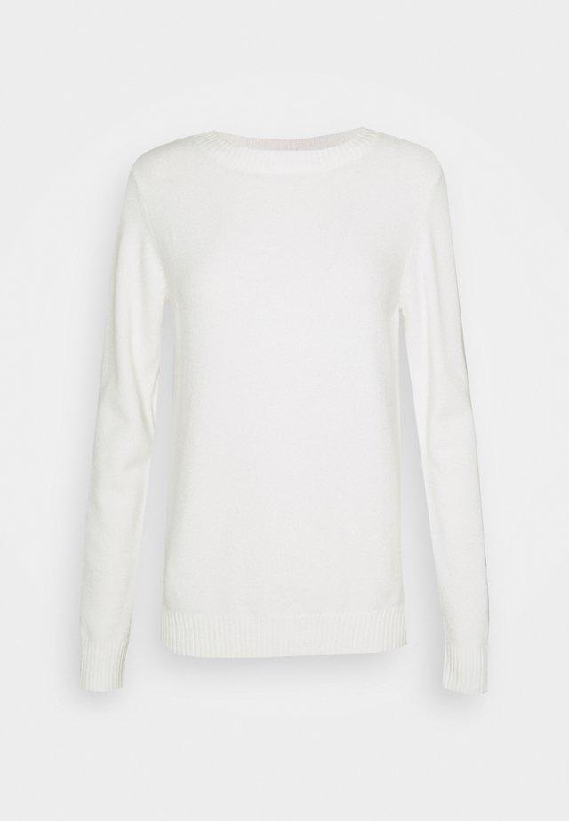 VIRIL O NECK - Svetr - white alyssum