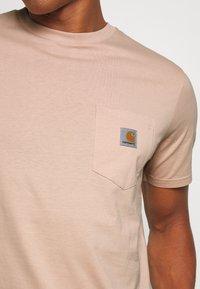 Carhartt WIP - Basic T-shirt - vegas pink - 5