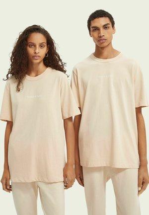 UNISEX GRAPHIC LOGO - Basic T-shirt - off white