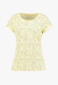 CORE - Print T-shirt - light yellow