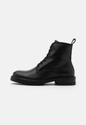 JOHN LACE UP BOOT - Lace-up ankle boots - black
