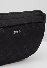 JOOP! - CORNFLOWER ZELLA HIPBAG - Bum bag - black - 4