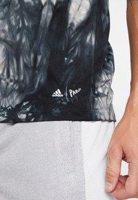 adidas Performance - FREELIFT PARLEY SPORT T-SHIRT - Sports shirt - black - 5