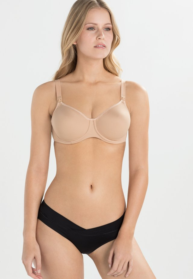 BASIC STILL-BH NURSING BRA - Underwired bra - nude