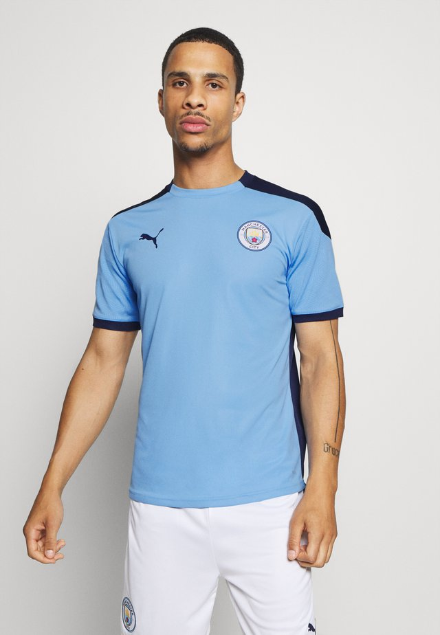 MANCHESTER CITY TRAINING - Club wear - light blue/peacoat