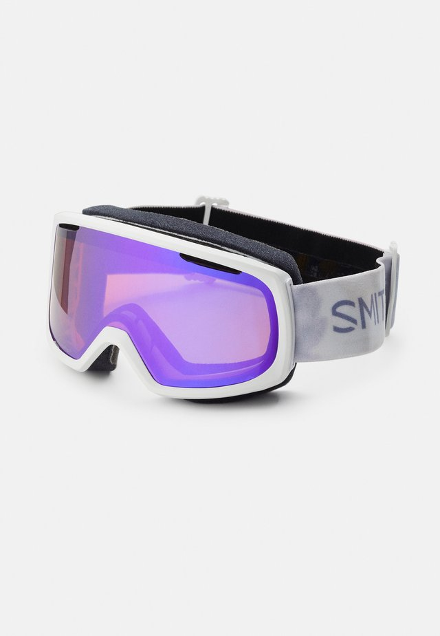RIOT UNISEX - Ski goggles - everyday violet/mirror yellow