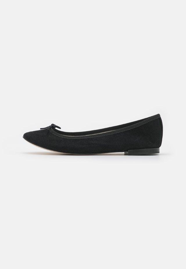 CENDRILLON - Baleriny - black glitter
