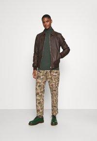 Schott - CALIFORNIA - Leather jacket - brown - 1