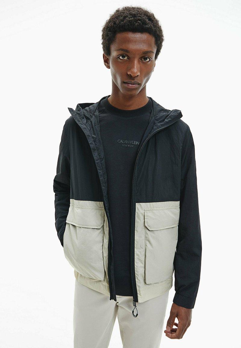 Calvin Klein - Summer jacket - bleached stone