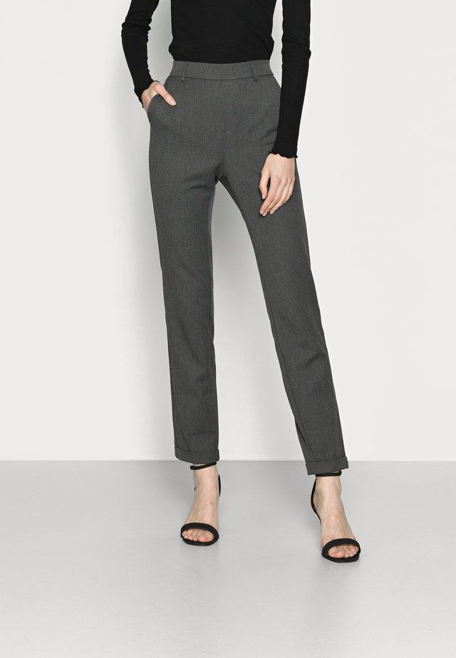 VMMAYA LOOSE SOLID PANT - Trousers - medium grey melange
